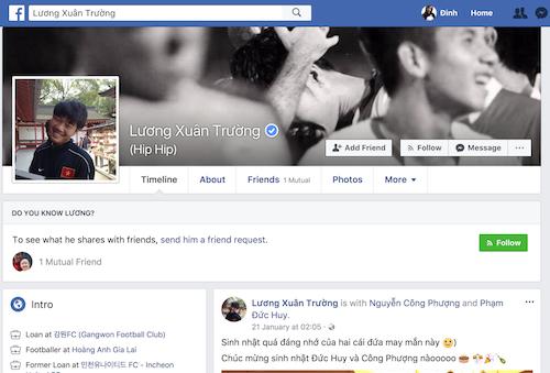 Facebook mao danh cau thu U23 Viet Nam 'moc len nhu nam' hinh anh 3