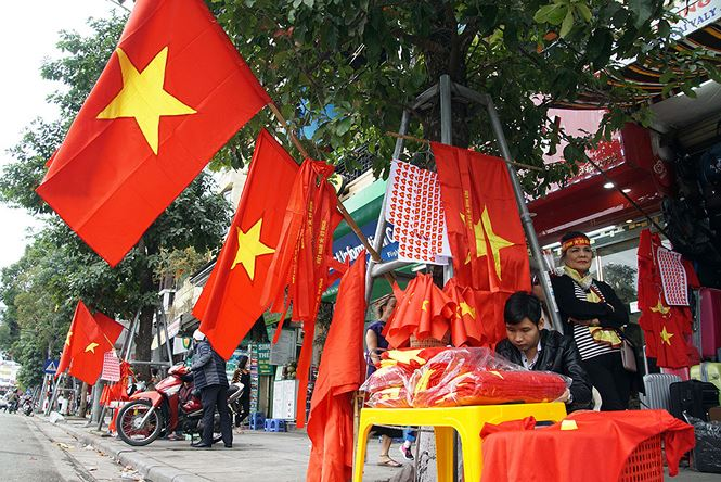 Hang hoa tang gia manh trong thoi gian U23 Viet Nam thi dau giai U23 chau A hinh anh 1