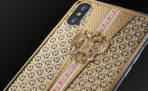 iPhone X nam kim cuong gia 43.000 USD hinh anh 1