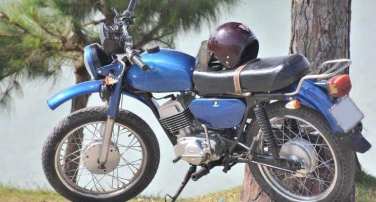 Dan choi Viet thoi bao cap cuoi 'sieu xe' Simson, Min 'kho', Super cub... di choi Tet hinh anh 3