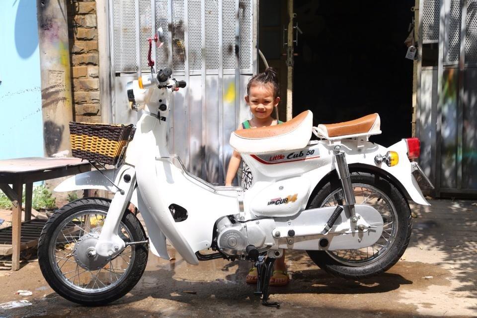 Dan choi Viet thoi bao cap cuoi 'sieu xe' Simson, Min 'kho', Super cub... di choi Tet hinh anh 5