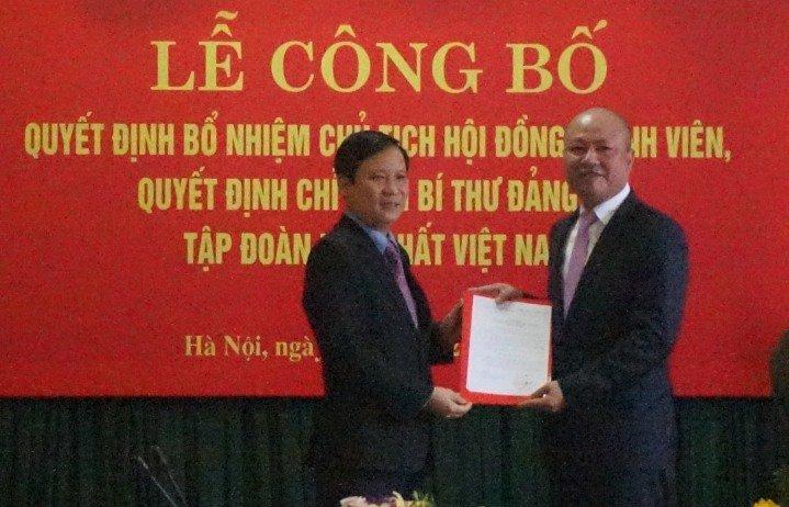 Bo nhiem tan Chu tich Tap doan Hoa chat Viet Nam hinh anh 1