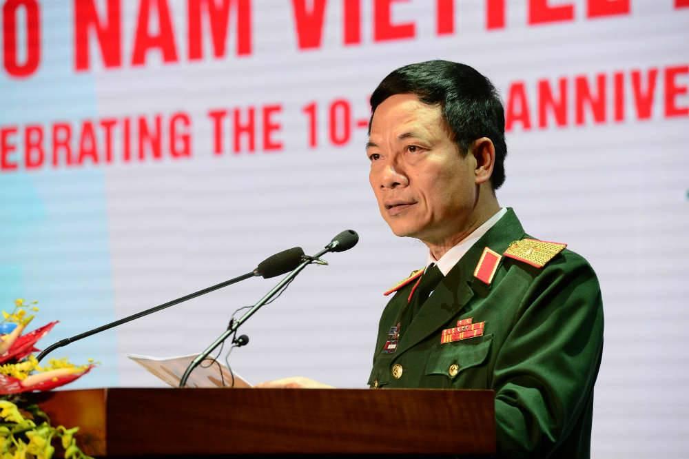 CEO Viettel: 'Vi binh yen cho con chau chung ta, phai san xuat duoc vu khi cong nghe cao' hinh anh 1