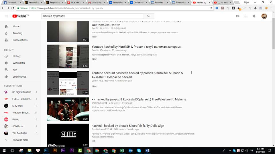 MV Despacito 5 ty view bi hack va xoa so khoi Youtube hinh anh 1