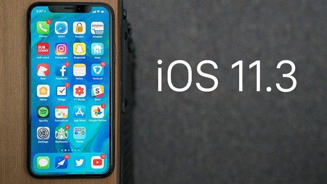 Thay man hinh, iPhone 8 thanh cuc gach sau khi len iOS 11.3 hinh anh 2