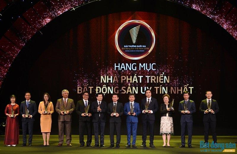 11 doanh nghiep dat giai 'Nha phat trien bat dong san uy tin nhat' 2018 hinh anh 2