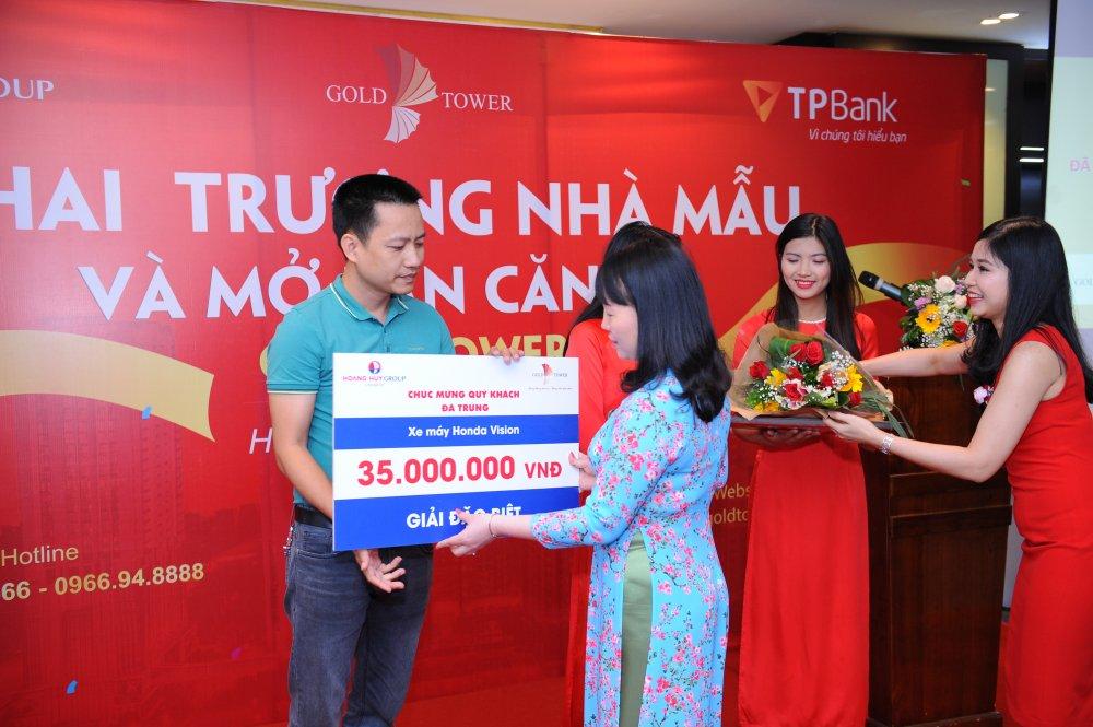 Khai truong can ho mau Gold Tower :'Xung dang uoc mo, xung tam lua chon' hinh anh 9
