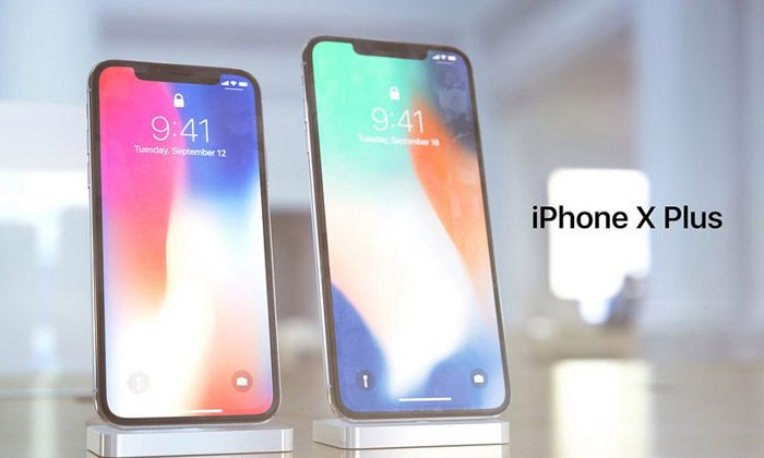iPhone X Plus man hinh 6,5 inch, Face ID theo chieu ngang hinh anh 1