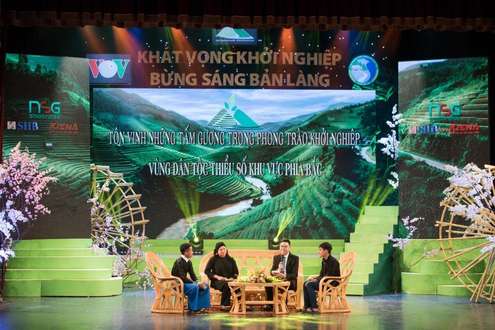 Khai mac chuong trinh 'Khat vong khoi nghiep - Bung sang ban lang' hinh anh 3