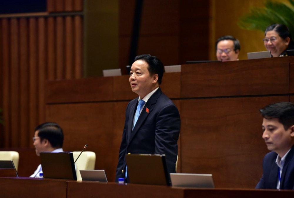 Bo truong Tran Hong Ha: Can tang thue voi dat khong su dung hinh anh 1