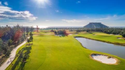 Chiem nguong Vinpearl Golf Nam Hoi An: Noi dang cai giai WAGC The gioi hinh anh 7