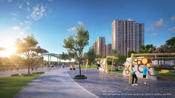Kham pha cong vien Gym ngoai troi: Dai tien ich 'Tai tao nang luong' cho cu dan Vincity Ocean Park hinh anh 1