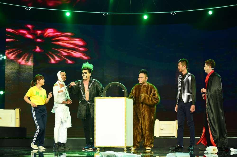 Video tiet muc cua hoc tro Hoai Linh bi Tran Thanh 'dim hang' hinh anh 1