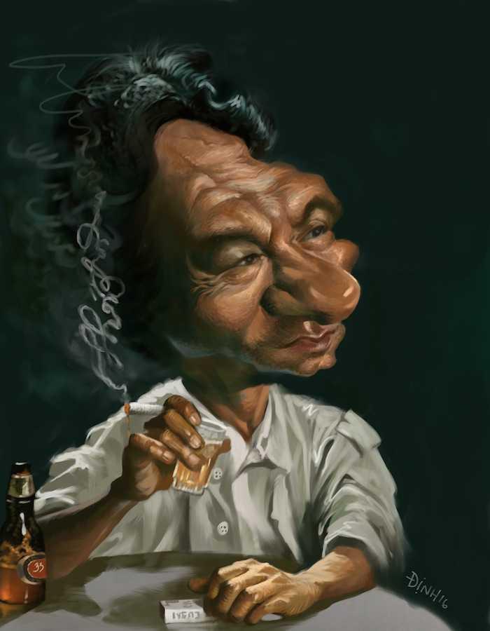 Sao Viet thich thu voi tranh hi hoa Tong thong Obama, ca si Dam Vinh Hung hinh anh 7
