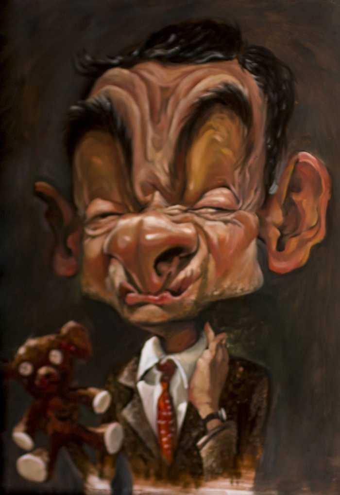 Sao Viet thich thu voi tranh hi hoa Tong thong Obama, ca si Dam Vinh Hung hinh anh 8