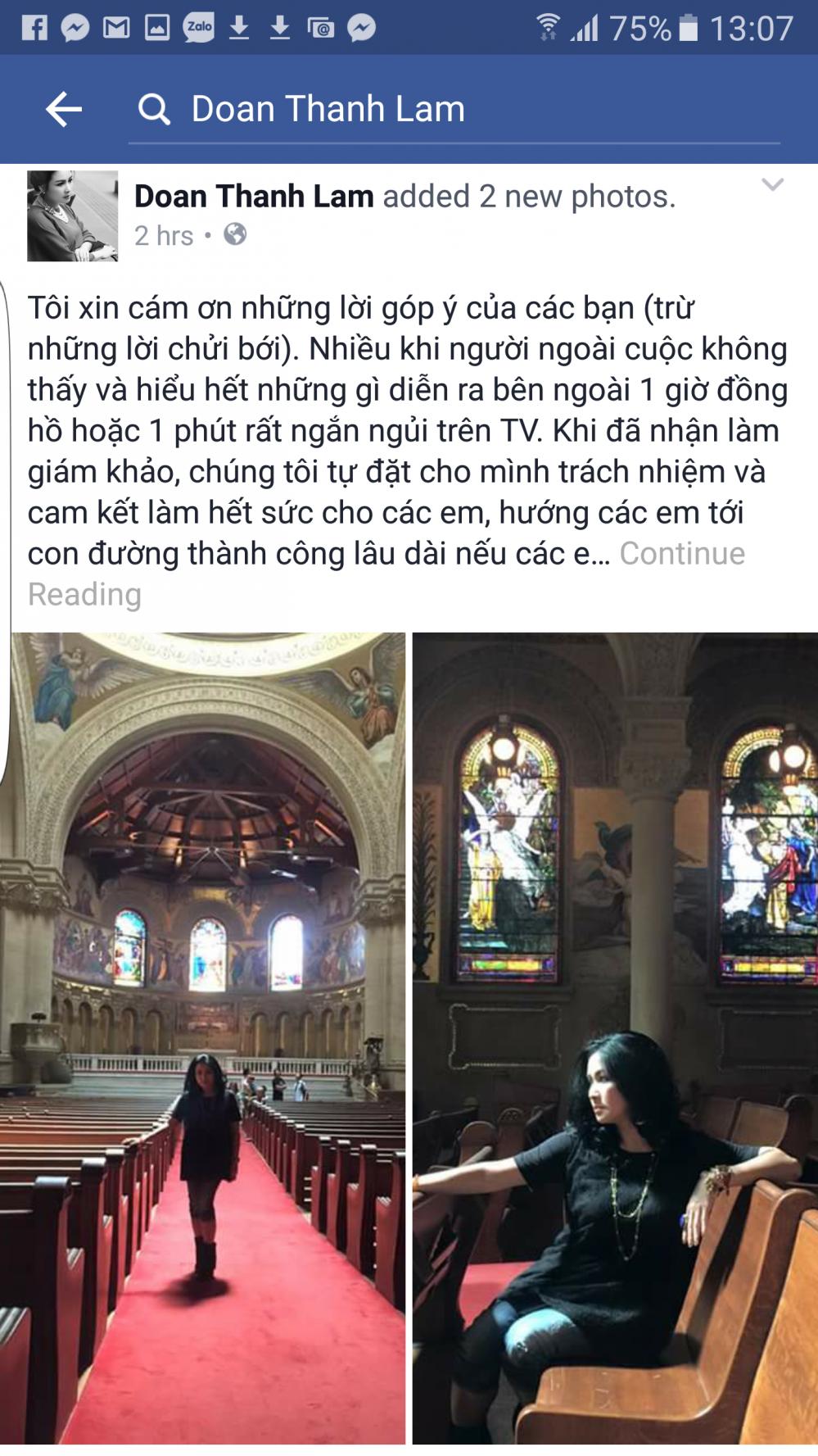 Thanh Lam: 'Ho Quynh Huong xuc pham cong suc va thien tam cua toi' hinh anh 1