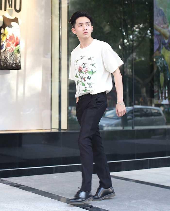 Lan Khue khoe street style cuc 'chat' o dia diem 'hot' nhat Sai Thanh hinh anh 11