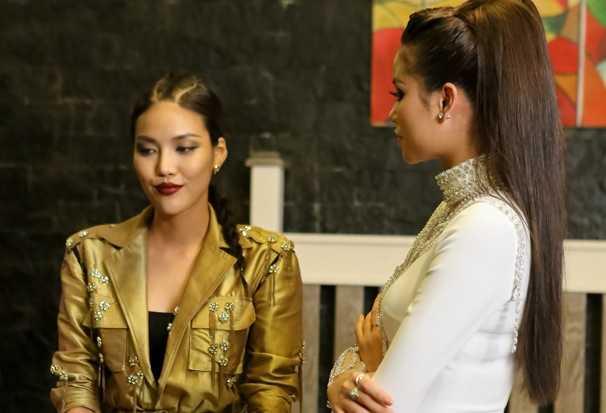 The Face: Mai Ngo, Lan Khue dong loat len tieng khi bi Pham Huong 'sat phat' hinh anh 2