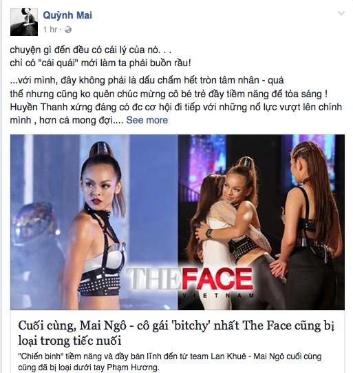 The Face: Mai Ngo, Lan Khue dong loat len tieng khi bi Pham Huong 'sat phat' hinh anh 3