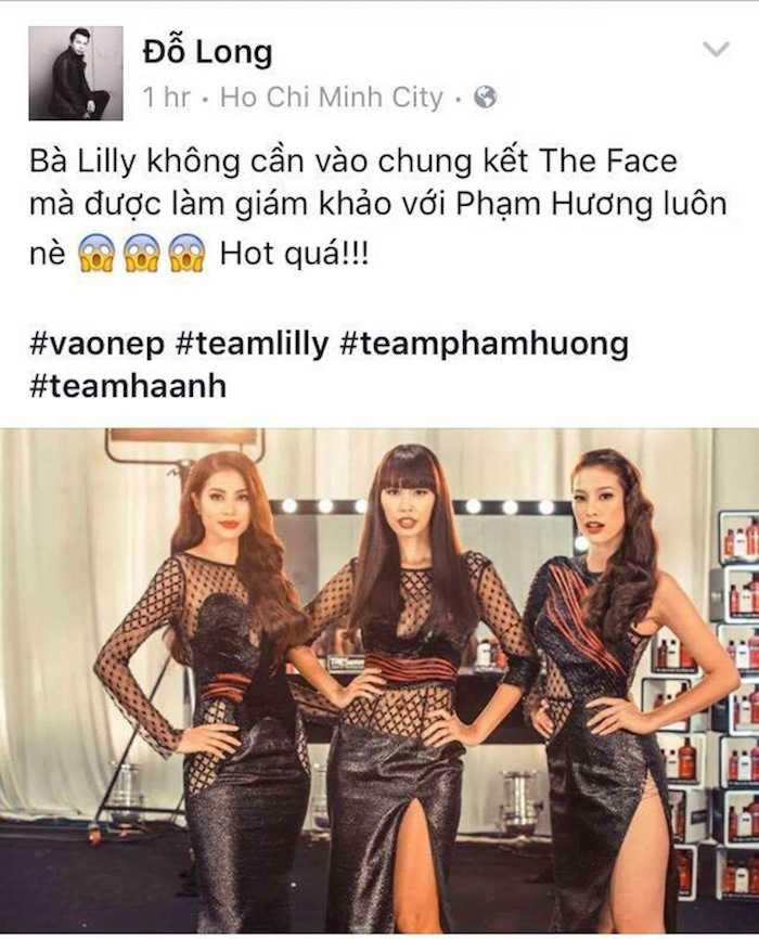 Vua bi loai khoi The Face, Lily Nguyen sanh ngang voi Pham Huong hinh anh 3