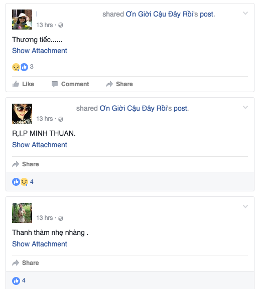 Khan gia khoc - cuoi voi Minh Thuan trong 'On gioi cau day roi' hinh anh 1