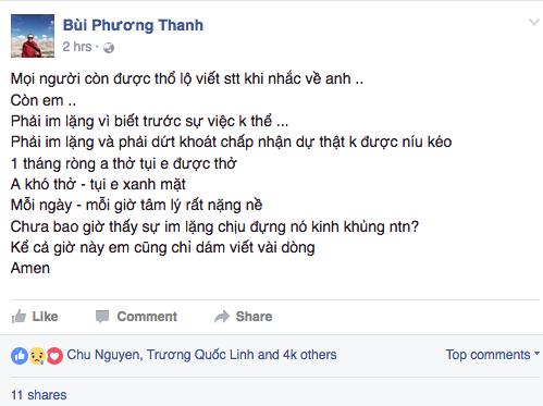 Phuong Thanh bat luc truoc su ra di 'duoc bao truoc' cua Minh Thuan hinh anh 2