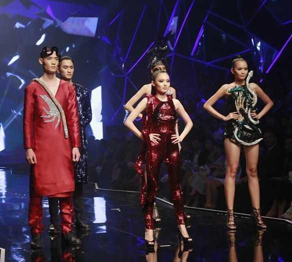 Ngoc Chau vuot qua 'Bong hong lai' 1m54, len ngoi Quan quan Vietnam's Next Top Model 2016 hinh anh 1