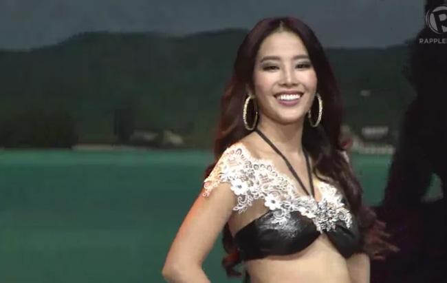 Hoa khoi Nam Em lot top 8 Hoa hau Trai dat 2016 hinh anh 2