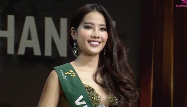 Hoa khoi Nam Em lot top 8 Hoa hau Trai dat 2016 hinh anh 3