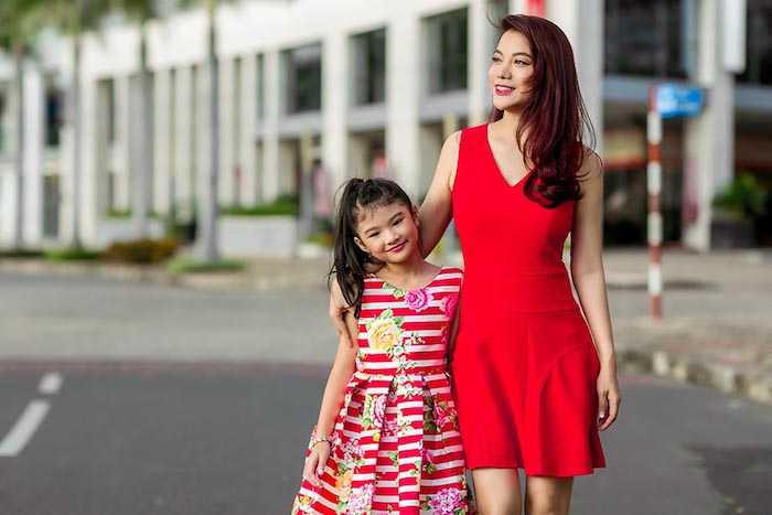 Con gai Truong Ngoc Anh – Tran Bao Son cang lon cang xinh dep, sanh dieu hinh anh 12
