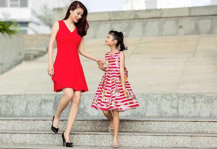 Con gai Truong Ngoc Anh – Tran Bao Son cang lon cang xinh dep, sanh dieu hinh anh 14