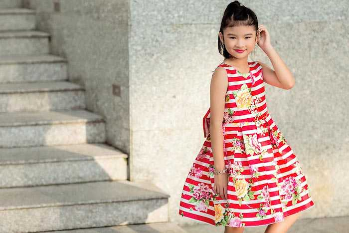 Con gai Truong Ngoc Anh – Tran Bao Son cang lon cang xinh dep, sanh dieu hinh anh 11