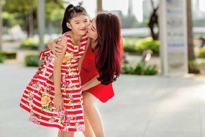 Con gai Truong Ngoc Anh – Tran Bao Son cang lon cang xinh dep, sanh dieu hinh anh 16