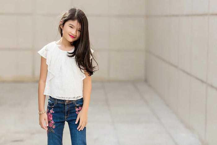 Con gai Truong Ngoc Anh – Tran Bao Son cang lon cang xinh dep, sanh dieu hinh anh 2