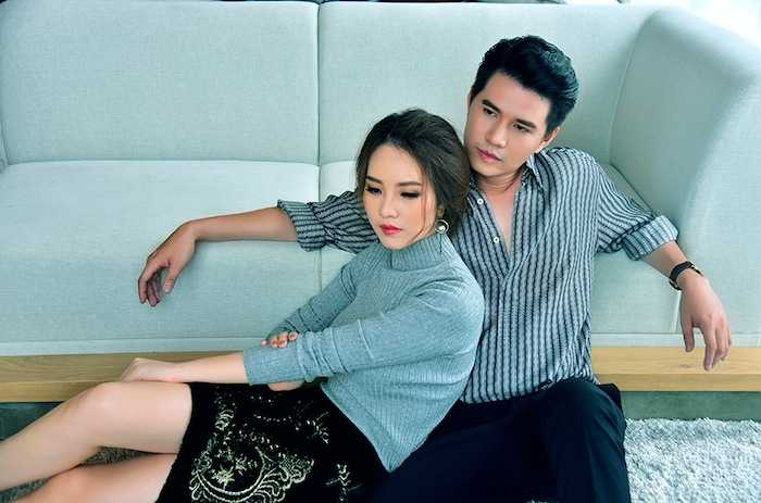Thuy Van goi cam, cung Vu Manh Cuong dien chuyen tinh an y hinh anh 10