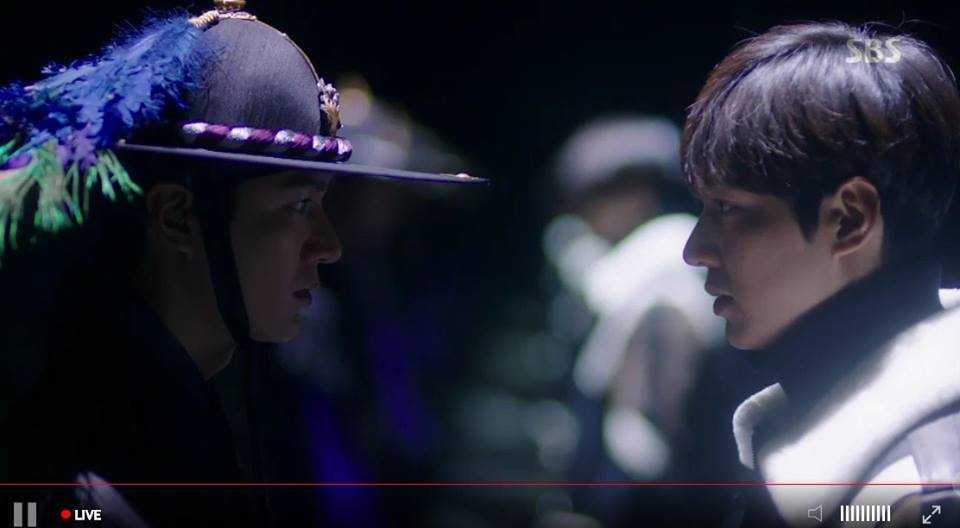 Huyen thoai bien xanh tap 9: Nu hon chinh thuc dau tien cua Joon Jae - Shim Chung hinh anh 1