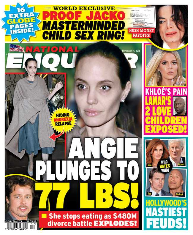 Angelina Jolie gio day chi con 34 kg du cao gan 1m70? hinh anh 13
