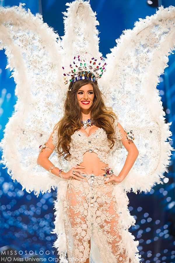Quoc phuc cua Le Hang xep hang 4 tai Miss Universe 2016 hinh anh 13