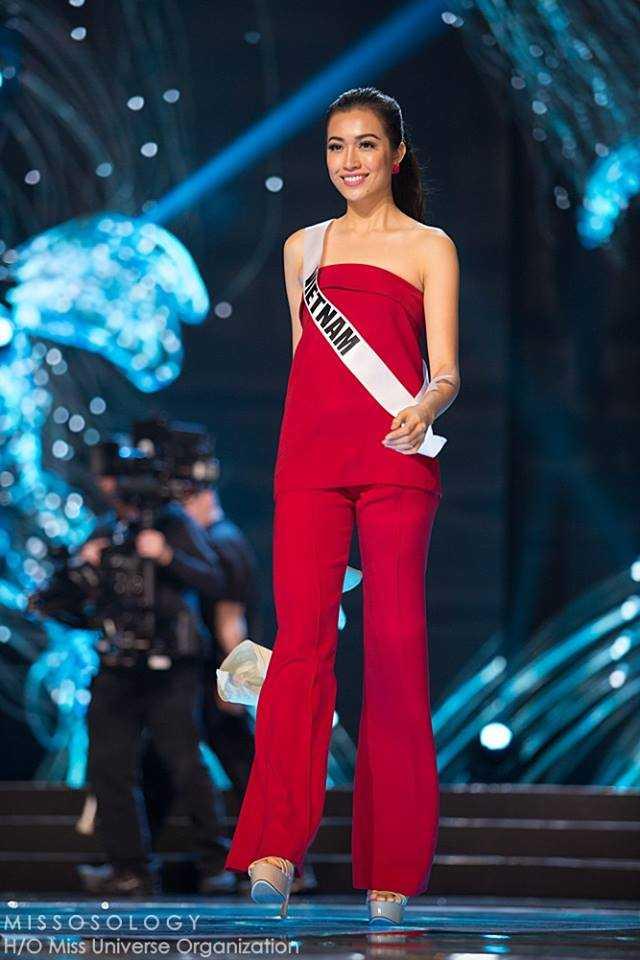 Le Hang xinh dep rang ro tham gia tong duyet truoc Chung ket Hoa hau Hoan vu 2016 hinh anh 1
