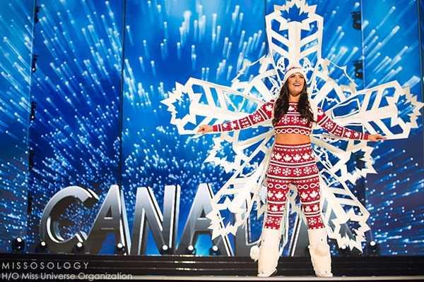 Quoc phuc cua Le Hang xep hang 4 tai Miss Universe 2016 hinh anh 10