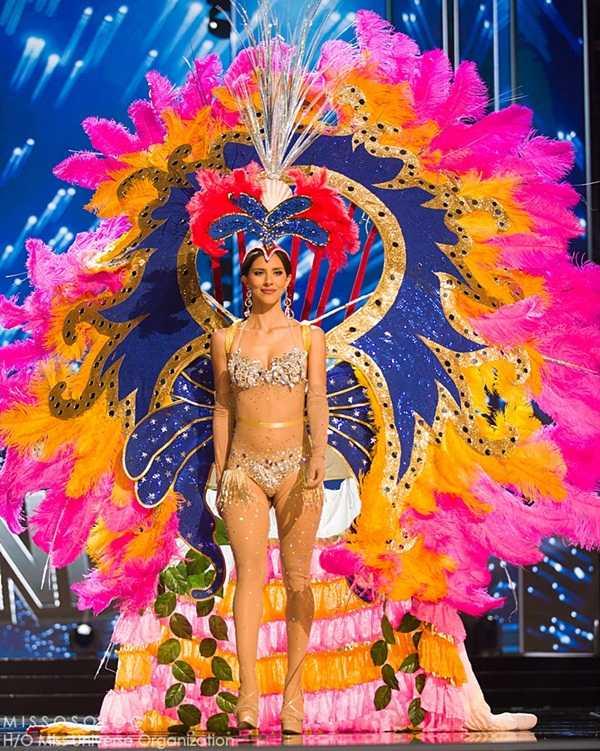 Quoc phuc cua Le Hang xep hang 4 tai Miss Universe 2016 hinh anh 9