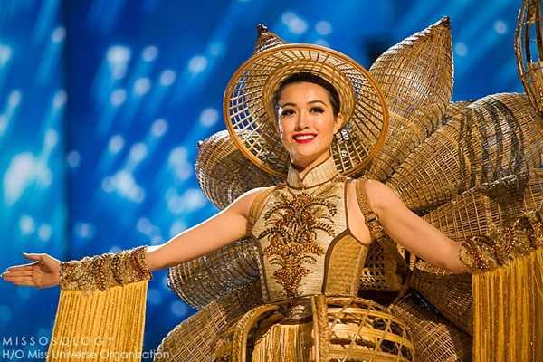 Quoc phuc cua Le Hang xep hang 4 tai Miss Universe 2016 hinh anh 5