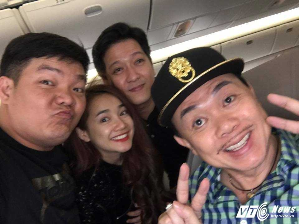 Phot lo scandal 'bo dien', Truong Giang dua Nha Phuong di cho ben My hinh anh 1