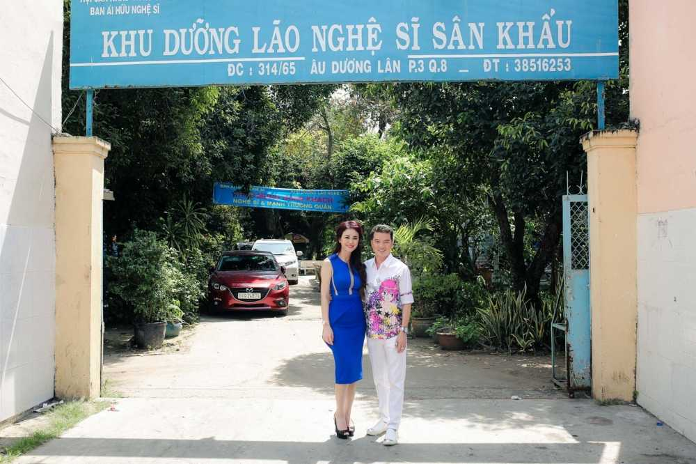 Mr. Dam cung Hoa hau My Van doi nang di lam tu thien hinh anh 1
