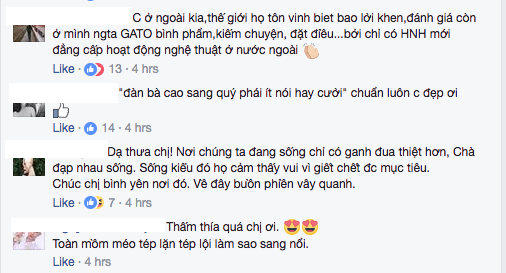 Bi dan chi 'day doi', Ha Ho che Le Quyen 'noi nhieu nen kem sang' hinh anh 3