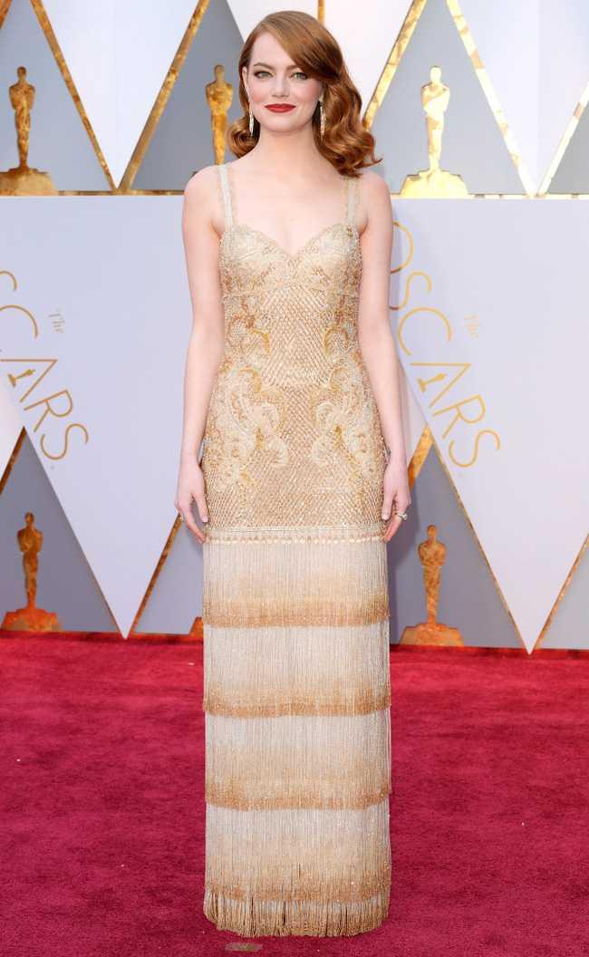 Oscar 2017: Thanh Long om thu bong gau truc, Scarlett Johansson khoe vong mot sexy hinh anh 2