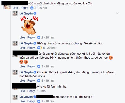 Bi che 'kem sang', Le Quyen noi Ha Ho it hoc, dau khong co nao? hinh anh 4