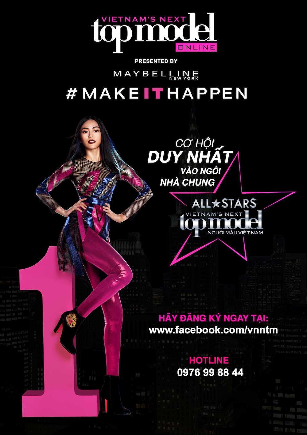 Vietnam's Next Top Model tro lai voi luat choi khac nghiet nhat hinh anh 1