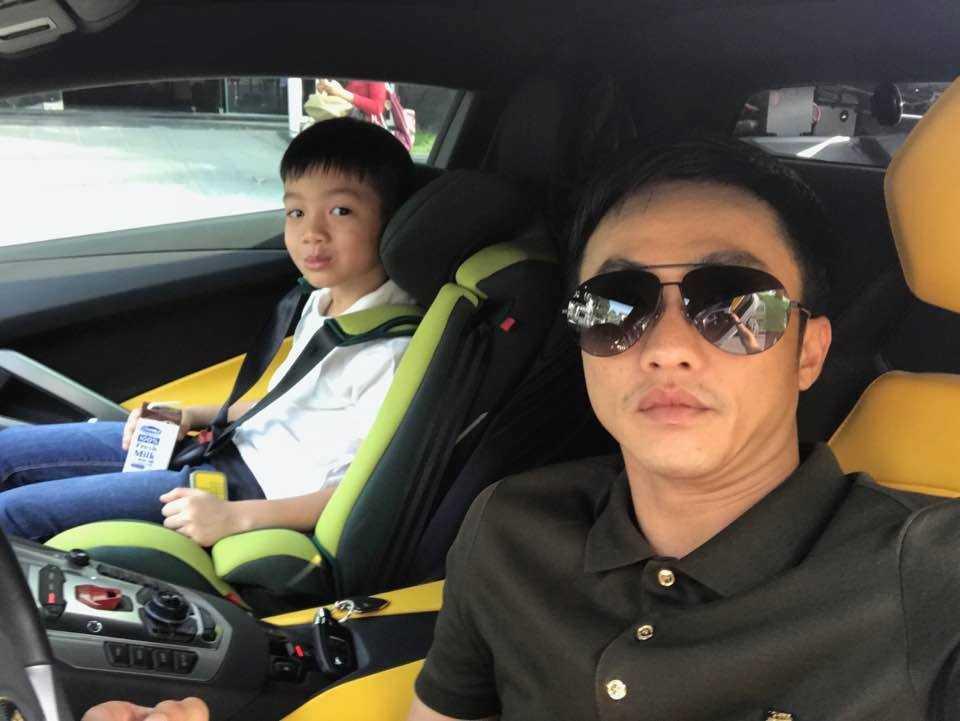 Vang Ha Ho, Cuong Do La danh sieu xe 26 ty dong moi tau dua Subeo di choi hinh anh 6