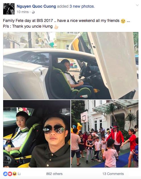 Vang Ha Ho, Cuong Do La danh sieu xe 26 ty dong moi tau dua Subeo di choi hinh anh 3